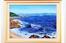 Oleaje en la costa