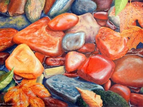 Piedras y Hojas
