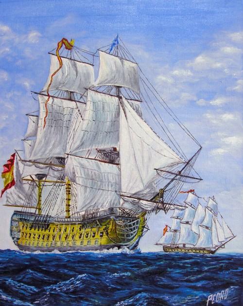 Navio Español S.XVIII