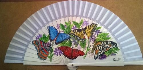 Abanico Mariposas